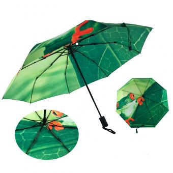 Rotary Screen Printing Folds Umbrella