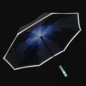 LED handle Inverted Umbrella